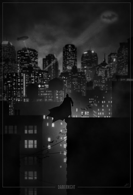 super hero noir, batman