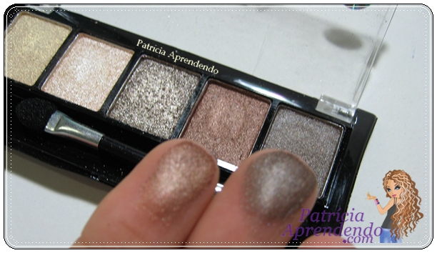 Quinteto de Sombras Premier Fenzza Make Up