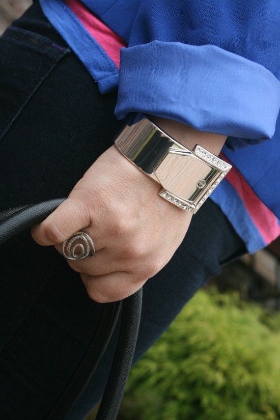 INPINK Silver Buckle Bracelet