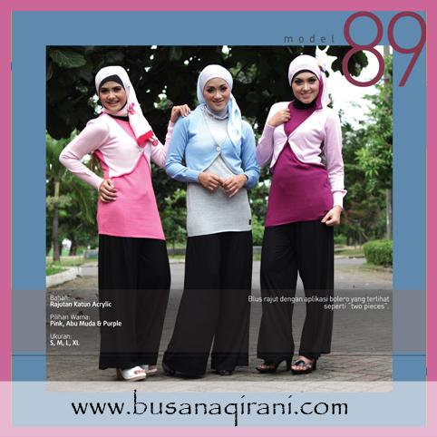 Kaos Muslimah / Blus Muslimah qirani 89