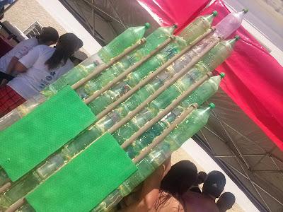 Pranchas ecológicas com garrafas PET