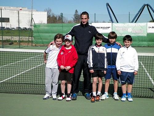 Tenistas Benjamines del Club Tenis Pozoblanco