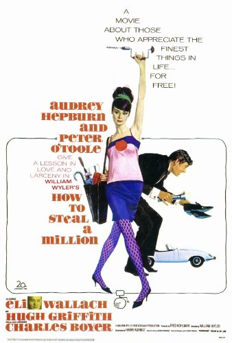 "Poster ""How to Steal a Million"" / Постер «Как украсть миллион»"