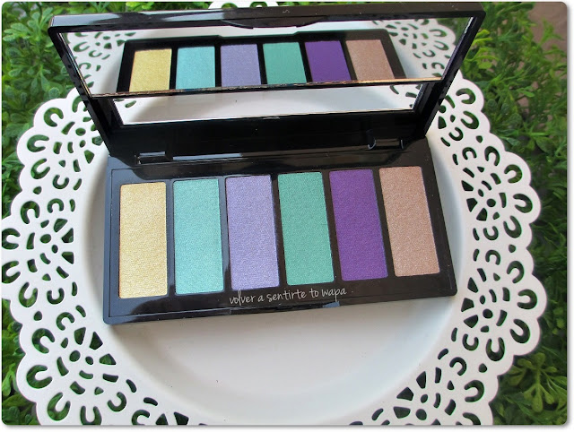 Paleta Eye Color Bar 62 Surf & Sun de Isadora