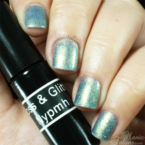 Gloss and Glitter Nymph Swatch