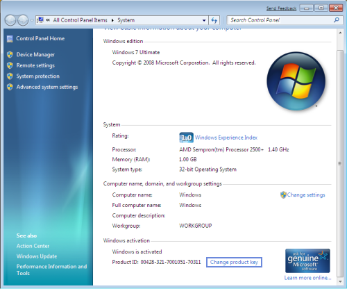 Computer Solution How To Find Windows 7 Product Key