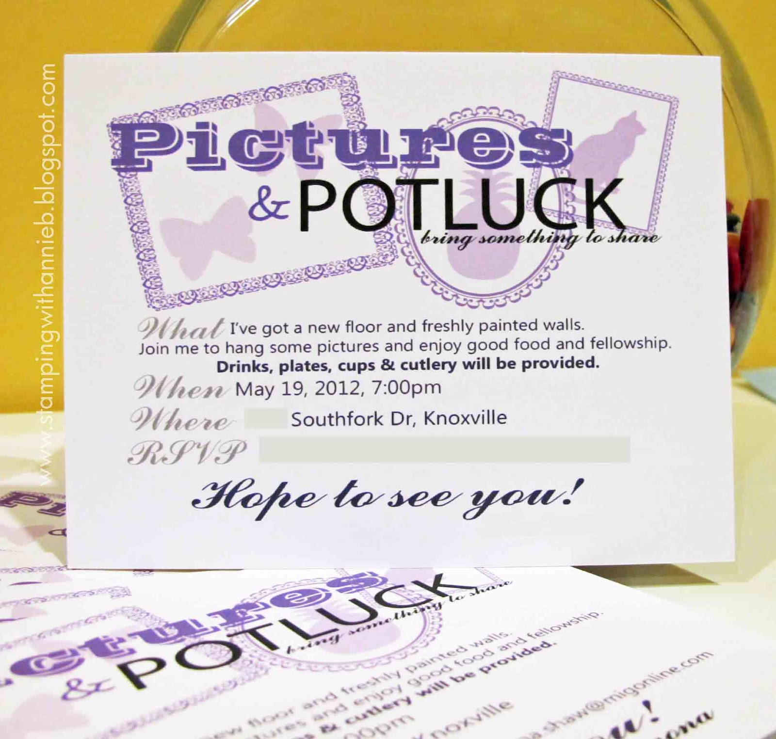 Potluck party invitations stopboris Choice Image
