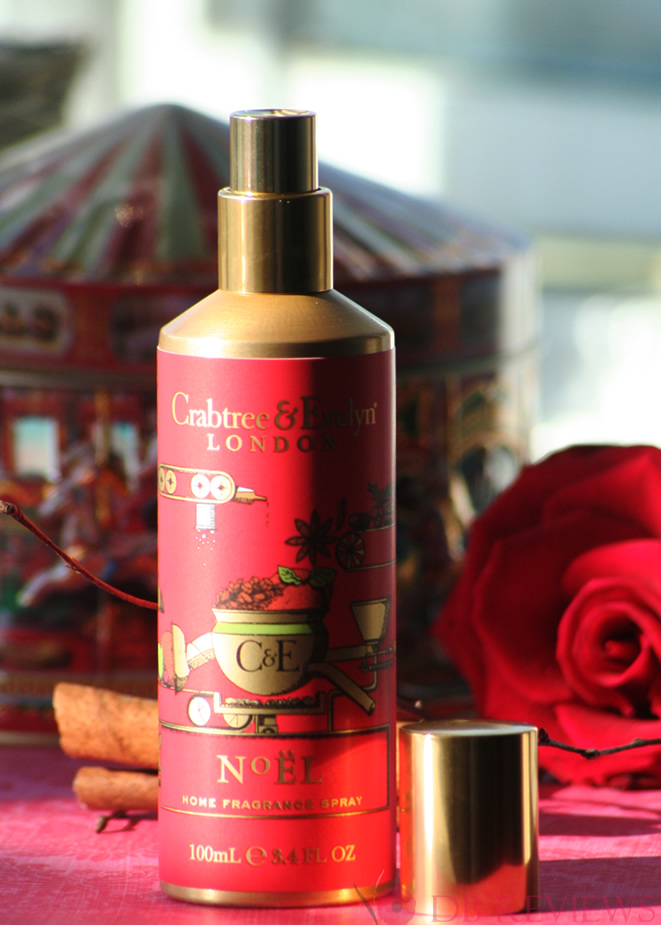 Festive Home Fragrance from Crabtree & Evelyn