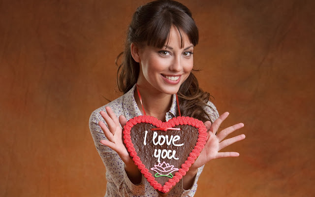 Hermosa Chica I Love you Imágenes de Amor - Love Images