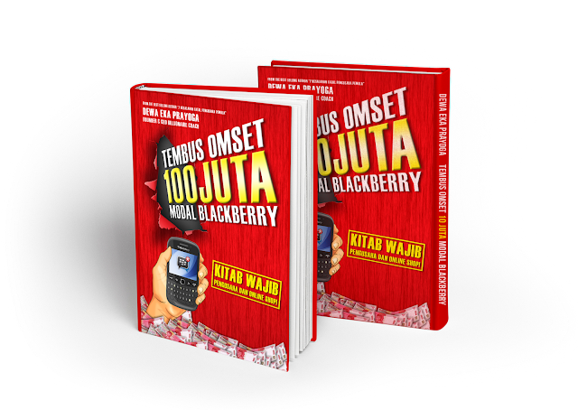 Buku Tembus Omset 100 Juta Modal BlackBerry Dewa Eka Prayoga
