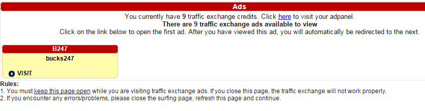 Free traffic exchange ads | BUXP