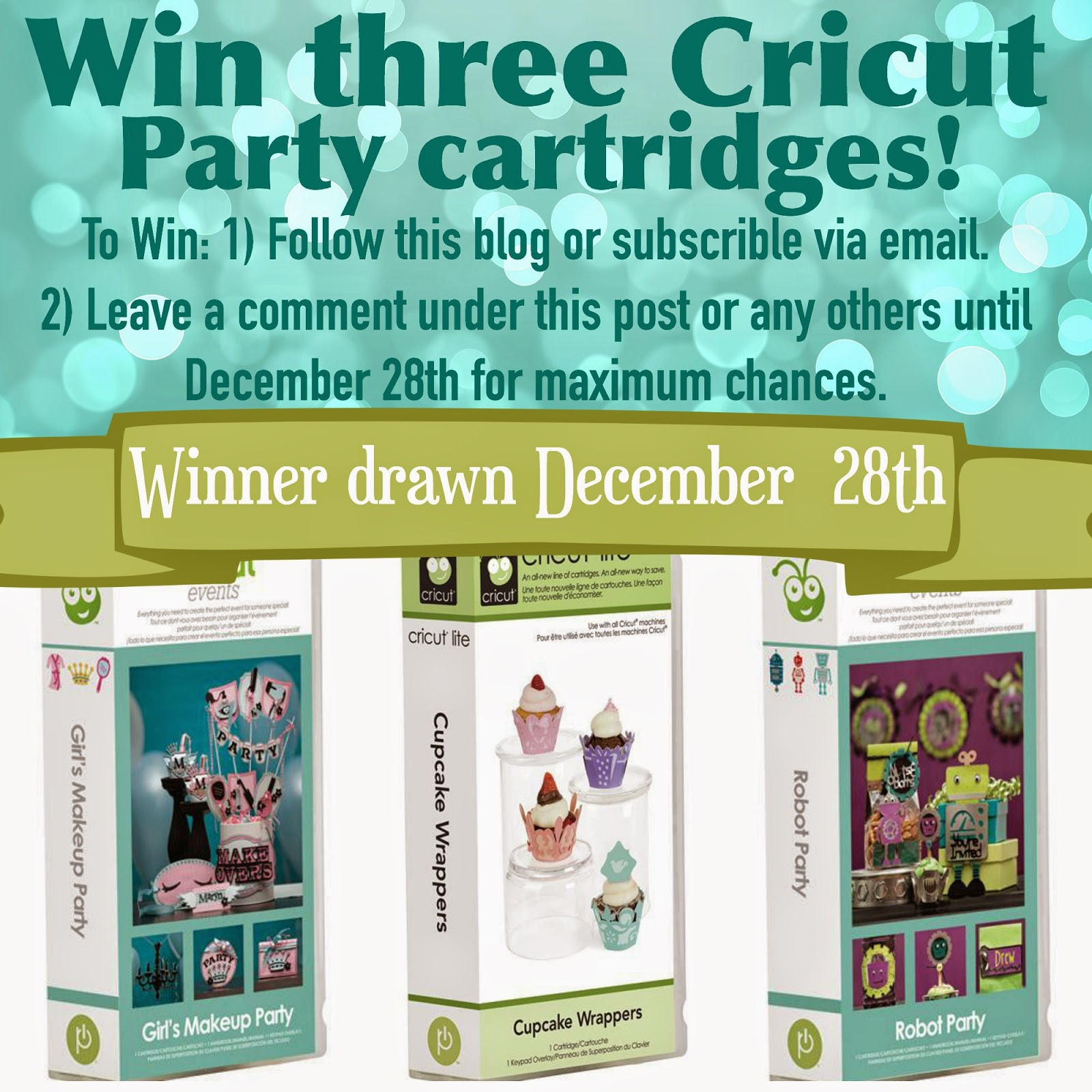 cricut paty cartridge giveaway