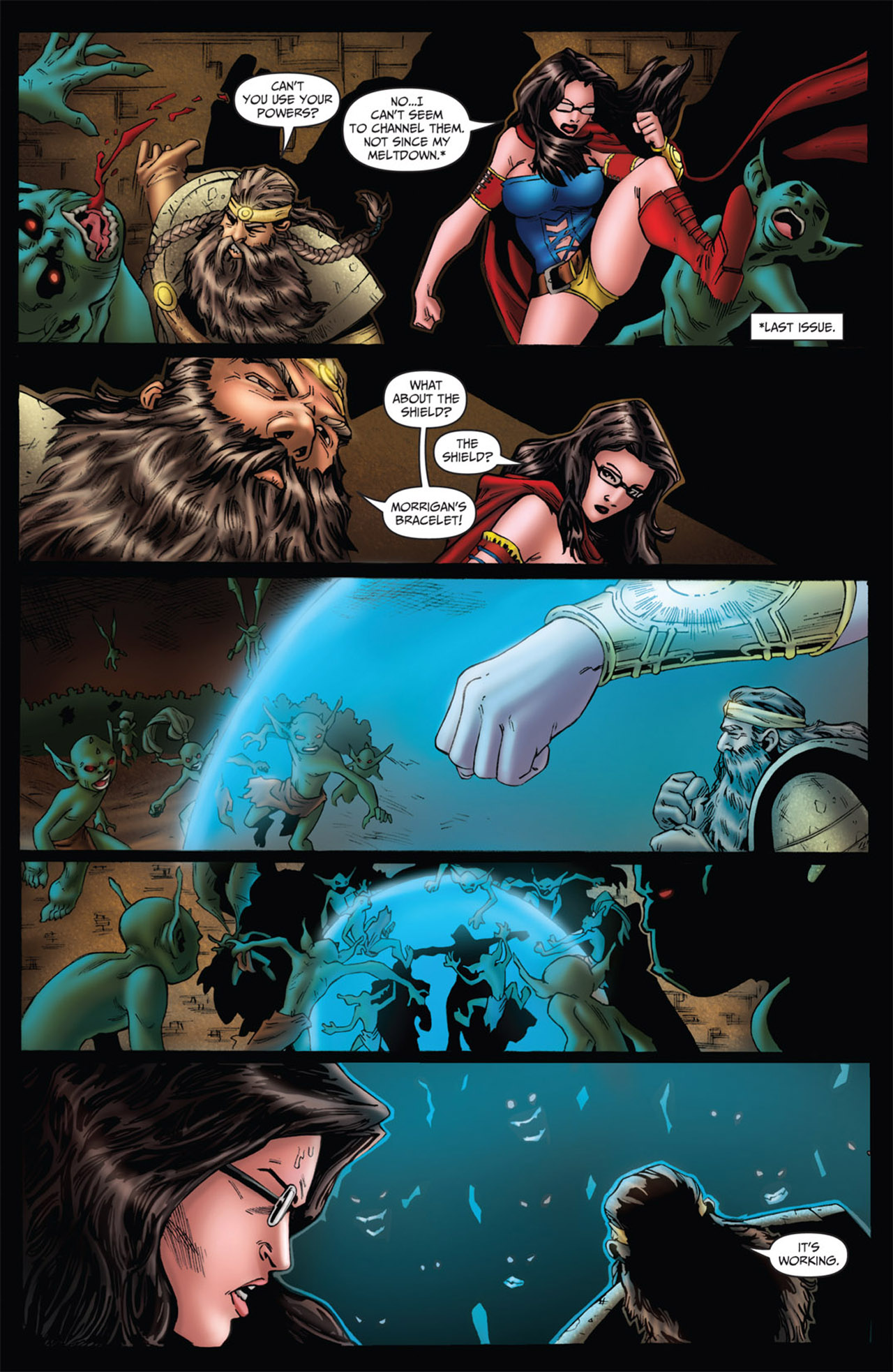 Grimm Fairy Tales (2005) Issue #56 #59 - English 4