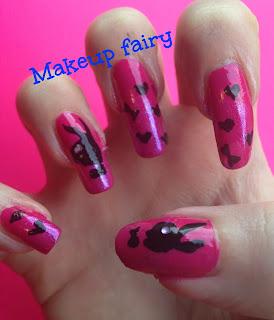 playboy nail art