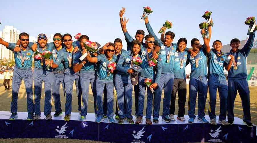 Sri Lanka win Gold medal in men's cricket at Asian Games 2014