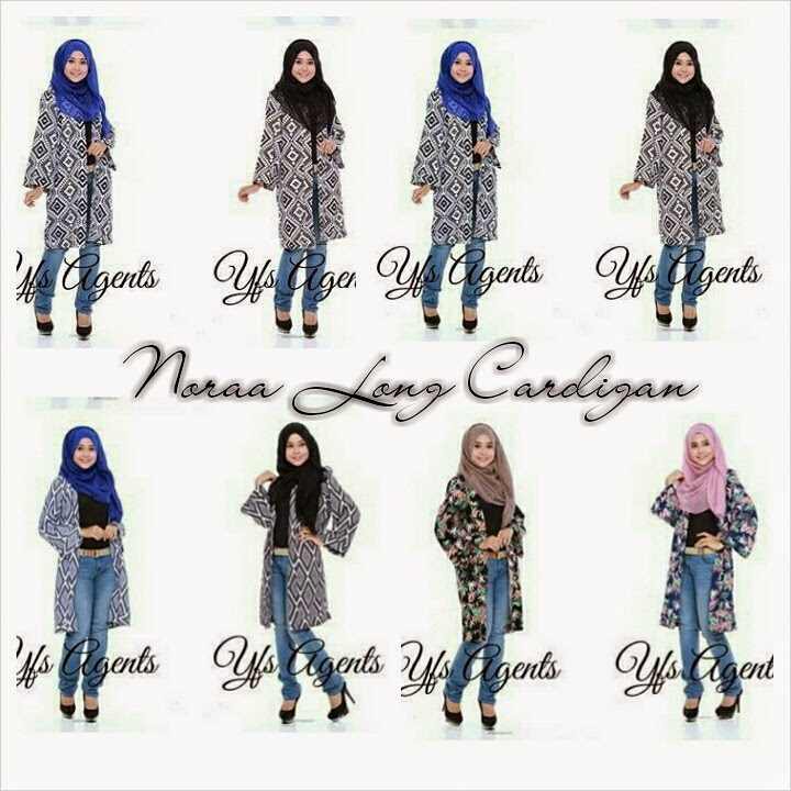 NORAA LONG CARDIGAN