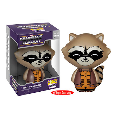 "Guardians of the Galaxy Rocket Raccoon Marvel Dorbz XL 6"" Vinyl Figure by Funko"