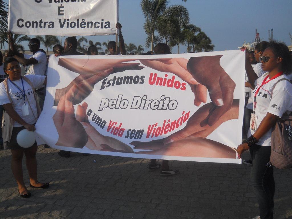 Marcha CONTRA-VIOLÊNCIA (Part. 1)