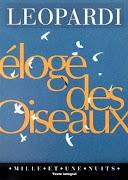 ELOGE DES OISEAUX - GIACOMO LEOPARDI