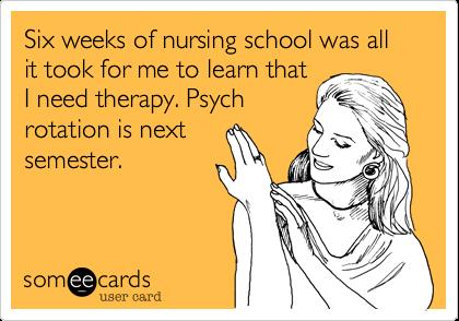 Student Nurse Ecards Nursing Students Seem to