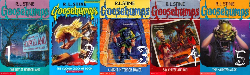 goosebumps horrorland the scream of the haunted mask book report Buy the scream of the haunted mask (goosebumps horrorland) 1 by r l stine (isbn: 9781407106922) from amazon's book store everyday low prices and free delivery on eligible orders.