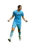 Fulham Manchester City Edin Dzeko Gol