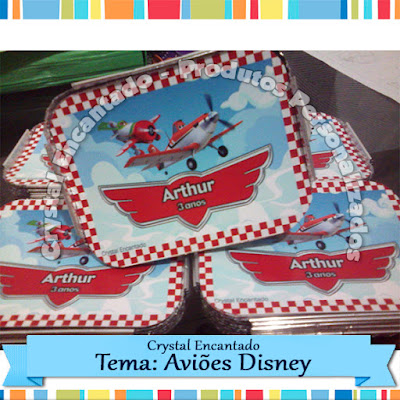 marmitinha Avioes Disney