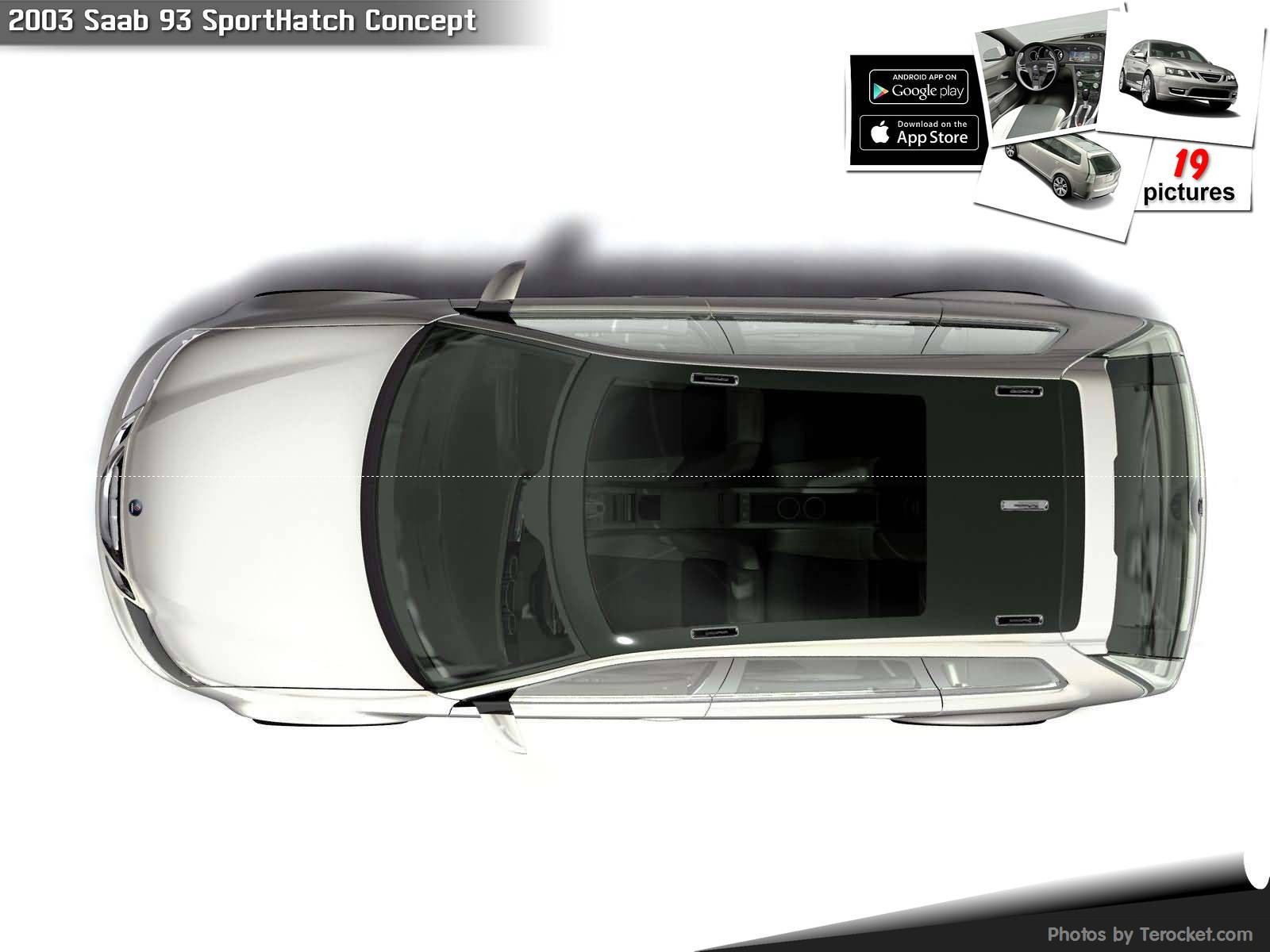 Hình ảnh xe ô tô Saab 93 SportHatch Concept 2003 & nội ngoại thất