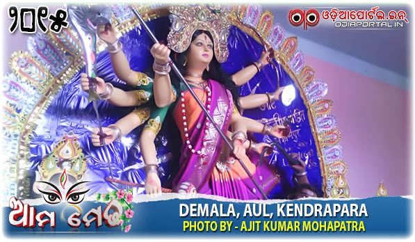 Ama Medha: Durga Medha From Demala, Ali, Kendrapara - Photo By Ajit Kumar Mohapatra