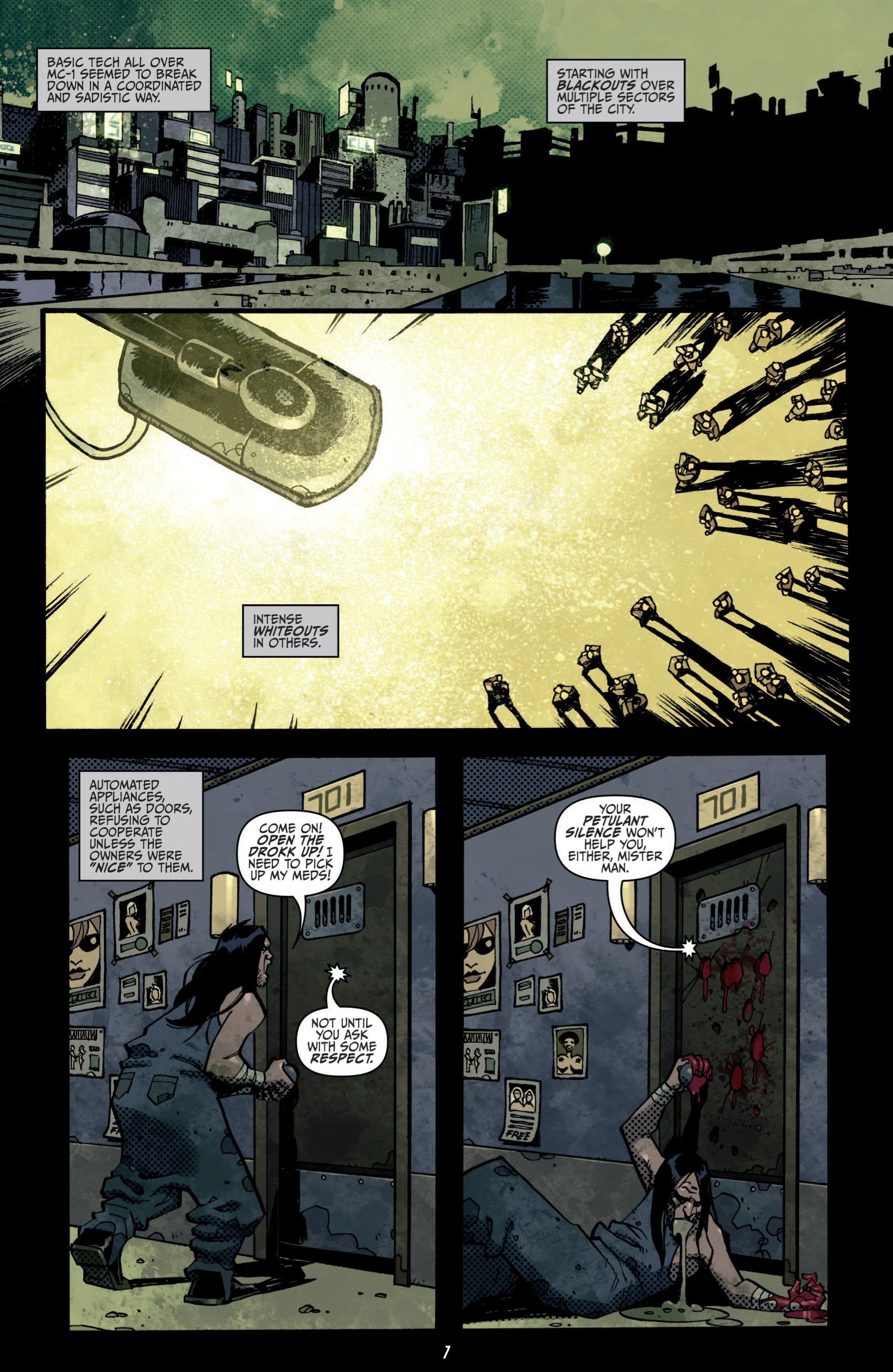 Read online Judge Dredd (2012) comic -  Issue #5 - 9
