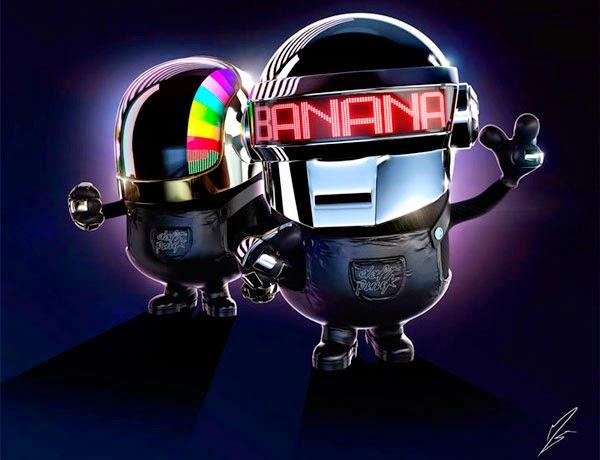 Minion Daft Punk de Tron - O Legado