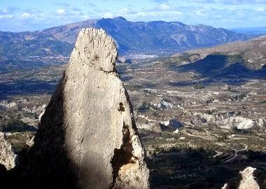 Agulles de Serrella. Fotografiat per Ramón Molina.