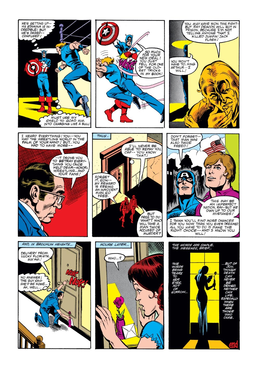 Captain America (1968) Issue #271 #187 - English 23