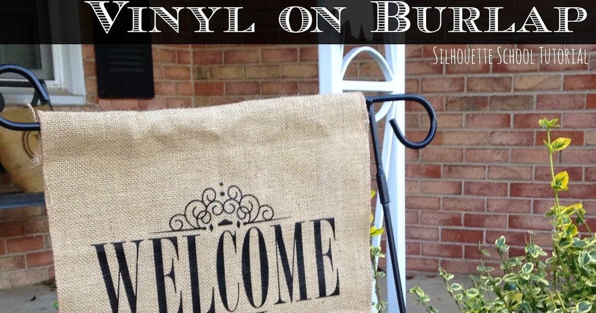 HTV on Burlap Tutorial: The Easiest Way Do It ...