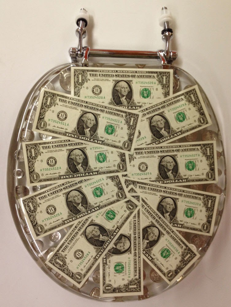 decorative dollar toilet seats
