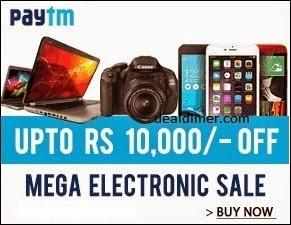 PayTM Mega Electronics Sale