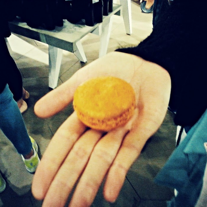 Macaroons at the InStyle & H&M Pre-Shopping Party in Hamburg