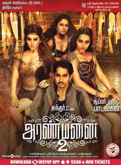 Announcement: Watch Aranmanai 2 (2016) DVDScr Tamil Full Movie Watch Online Free Download