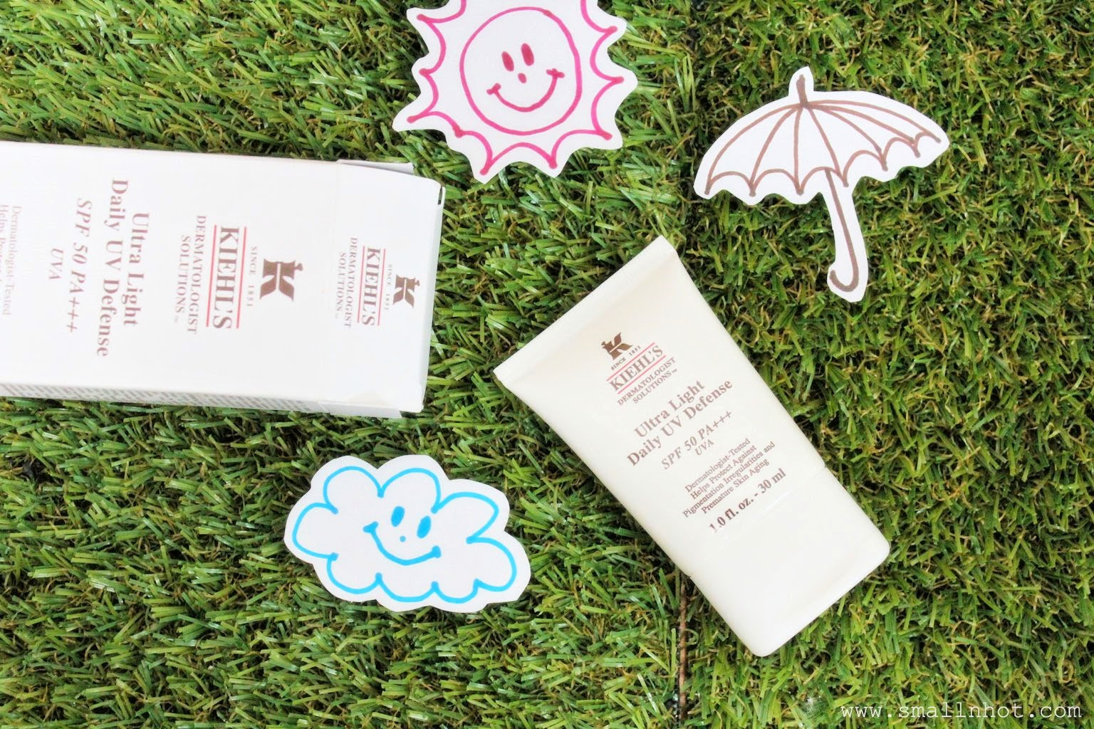 [review] Kiehl's Ultra-Light Daily UV Defense SPF 50 PA+++ UVA