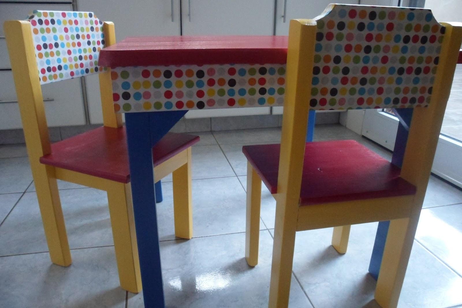 Localinda objetos de dise o mesita y sillas para ni os - Mesita con sillas infantiles ...