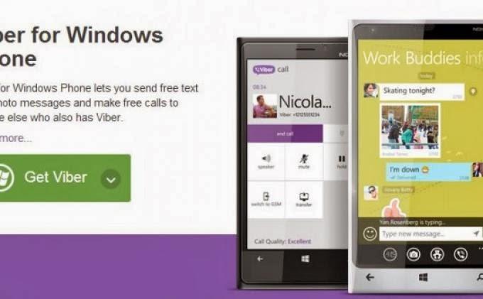 скачать вайбер на windows phone