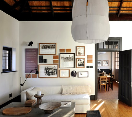 Safari Fusion blog | Satyagraha House | Interior style and decor of Gandhi's South African residence via Satyagraha House