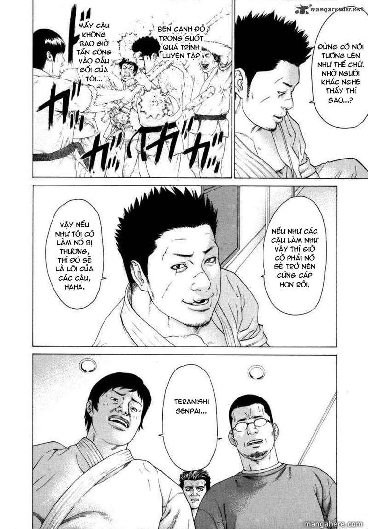Karate Shoukoushi Kohinata Minoru chap 82 Trang 8