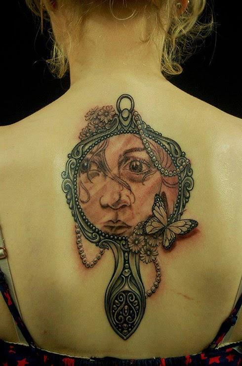 Tatuajes Para Mujer Tatuajes De Espejos Antiguos