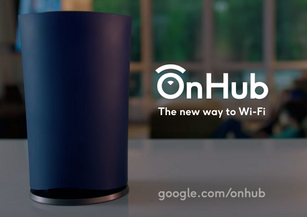 Google-wifi-router-on hub