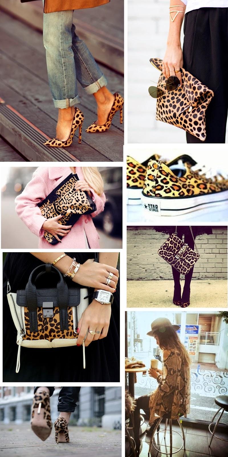 animal print trend, inspiration photos, fashion inspiration, leopard print on clothes, animal print heels shoes, animal print bag clutch, victoria tornegren bag, converse all star animal print chucks, fashion blogger