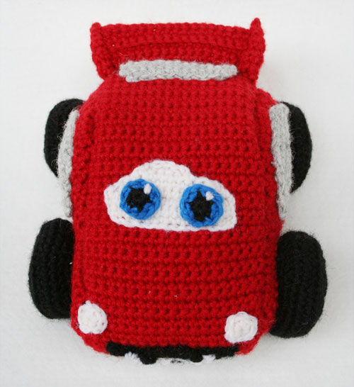 Carrozzeria macchina Cars amigurumi