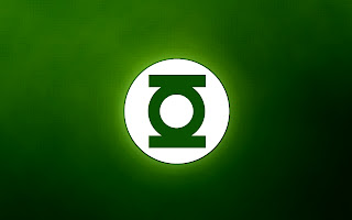 Green Lantern Logo Minimal HD Wallpaper