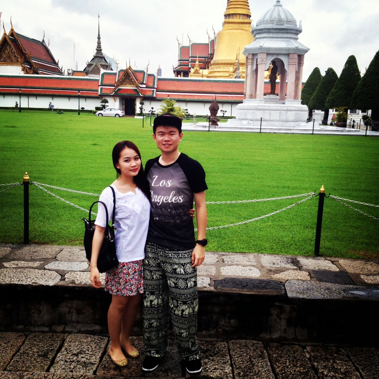 BANGKOK: GRAND PALACE WITH THE GF, COOL PANTS HUH