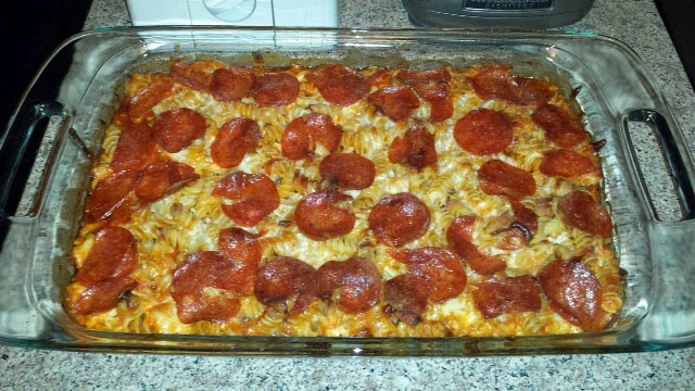 Pepperoni Pizza Casserole Recipes — Dishmaps